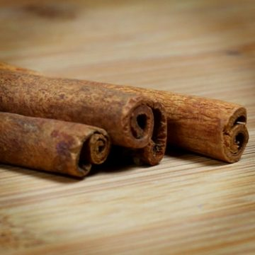 Homemade Cinnamon Simple Syrup