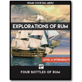 Explorations of Rum: Four Bottles of Rum