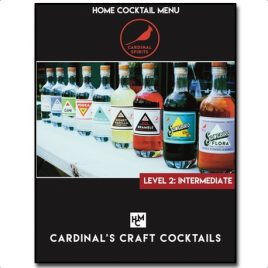 Cardinal Craft Cocktail's E-Book