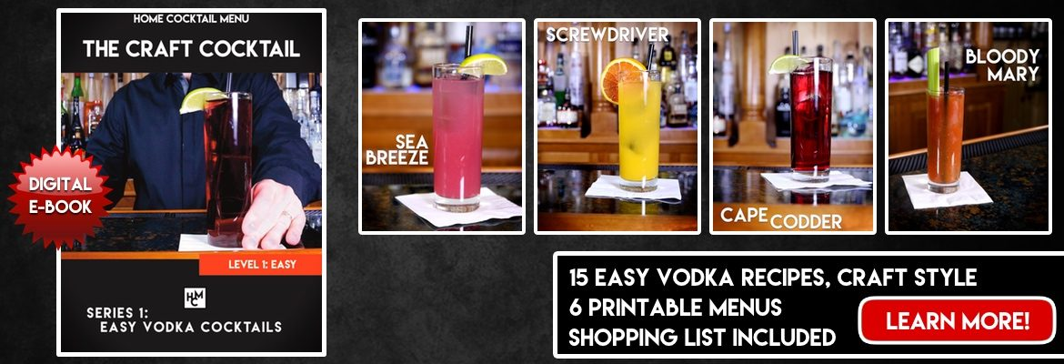 Easy Vodka Cocktails, Series 1