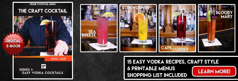 Easy Vodka Cocktails, Series 1